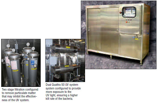 1500 GPH - Multi-Staged Bacterial Reduction System