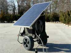 Transportable Solar Power