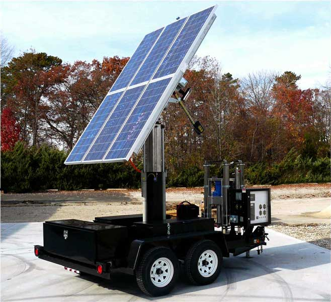 Transportable Solar Powered