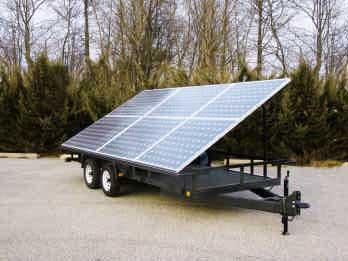 Mobile Solar Power Unit