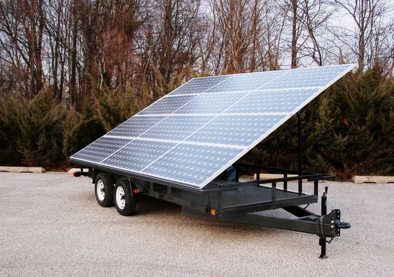 Mobile Solar Power Unit