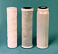 "Set of 3 10"" Filters–1 Sediment, 1 Carbon, 1 GAC"
